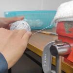 糸巻き作業の工程