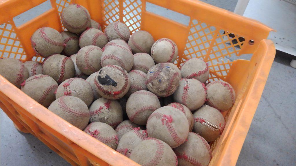 カゴに入ったボール