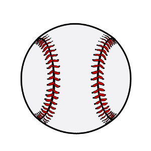 野球ボールのイラスト